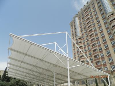 Kazakhstan Çimkent Parking Membrane & Steel Construction