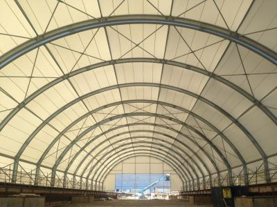 Bos-shelf baku Movable rail hangar 20mt x 100mt x h 11.60 mt
