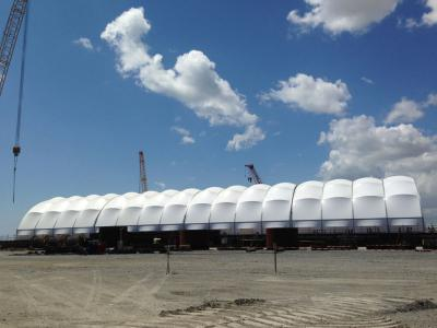 Bos-shelf baku Movable rail hangar 20 mt x 100 mt x h 11.60 mt